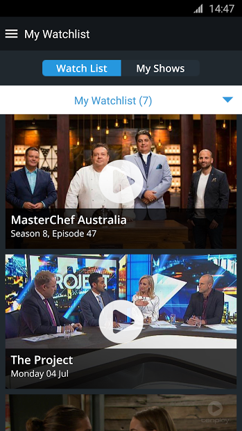 Watch Australian TV wherever you are |