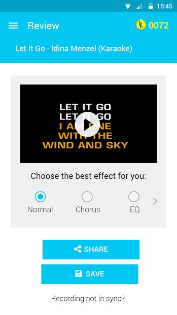 let it go app for android